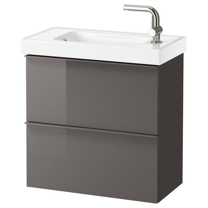 Bild 2 Von 5 Waschbeckenschrank Waschbeckenunterschrank Hochglanz