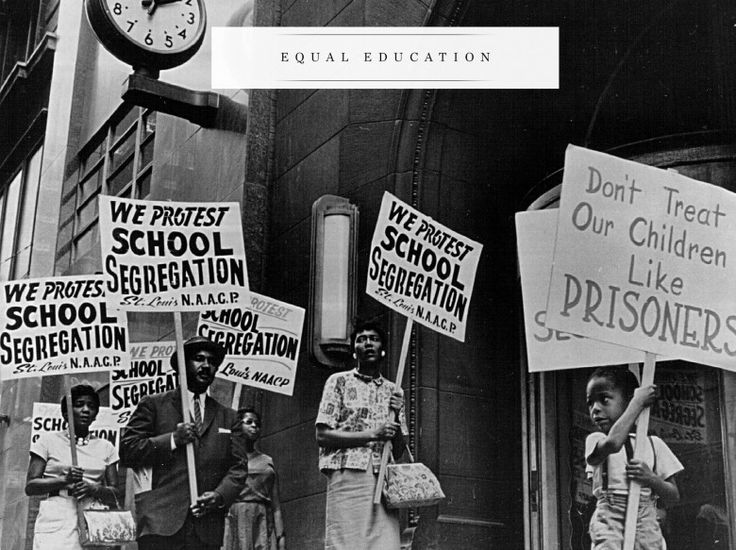 """brown v board of education a landmark case in the history of american education Association for the study of african american life and history  brown v board of education case,  association """"landmark cases: brown v board of education."""