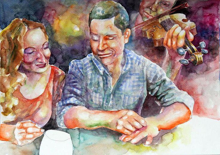 Ðorde Beara 2014 - akvarel 30x40 - 18
