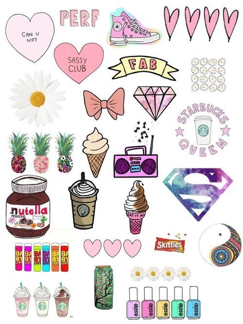 Doodles Cute Notebook Random
