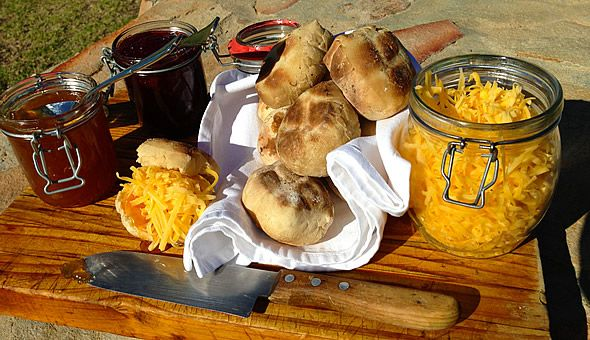 Recipe: How to make the perfect braai bread (roosterbrood). #recipe #SouthAfrica