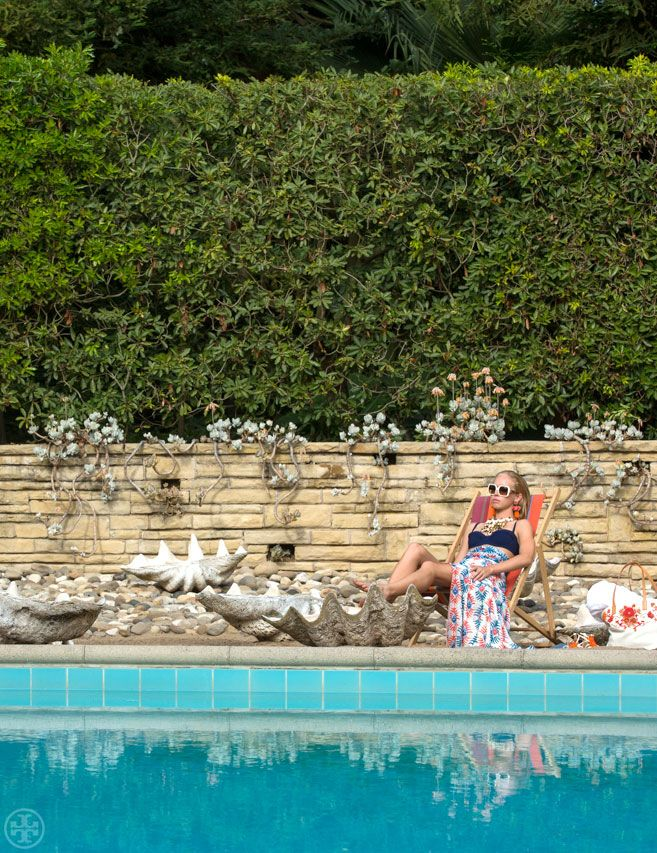 Sunbathe in style with Tory's new Rodeo Drive collection. Just kick back and relax.