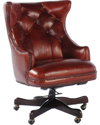 brown leather office chair google search