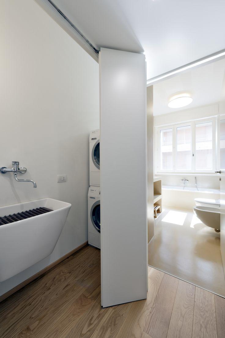 laundry, interior, interno, ristrutturazione, appartamento, lavanderia