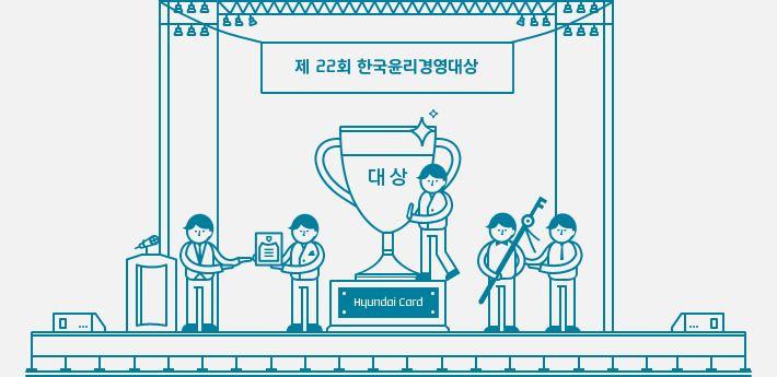 [경영방침] 현대카드, 한국윤리경영대상 받다