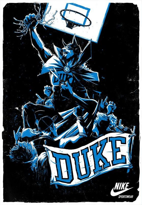 Duke Blue Devils <3.....unc fans don't get too hot headed... Remember your season rank AND LAST SATURDAY :)