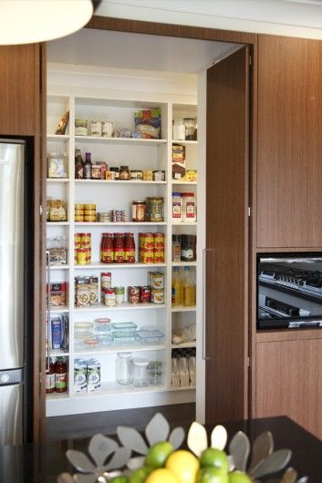 Kitchens - doors opening into butlers pantry