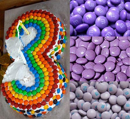 candy birthday cake ideas