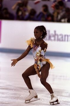 Surya Bonaly | The 30 Most Fantastic Ice Skating Outfits Of The '90s