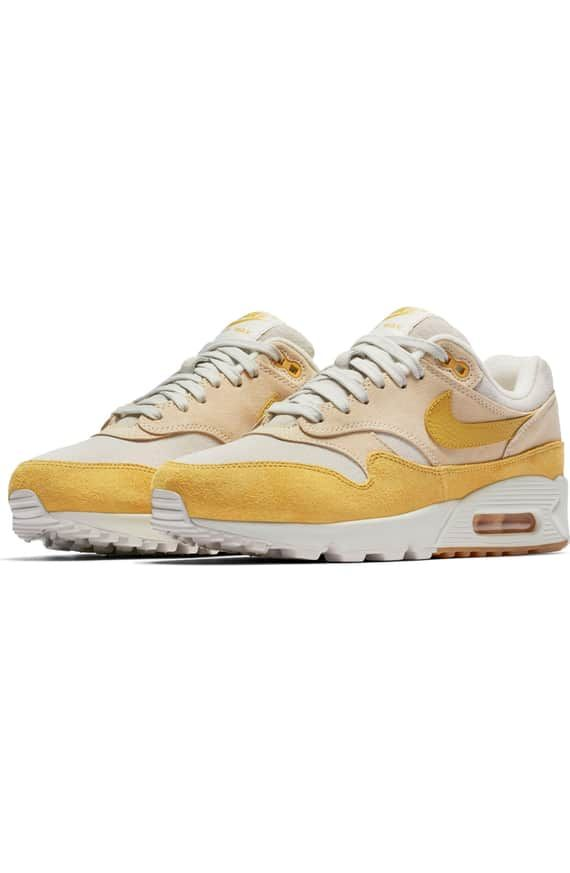finest selection 9c7f3 69199 Product Image 0 Air Max 1, Nike Air Max, Suede Sneakers, Mustard,