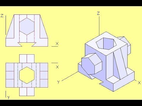 Comment dessiner une perspective isométrique