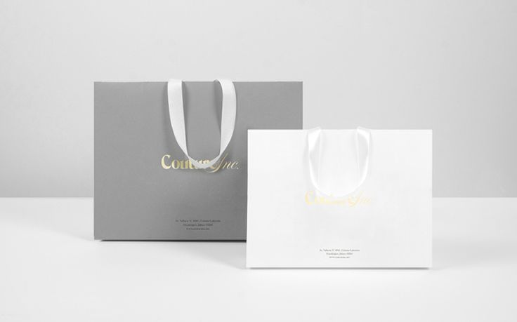 Packaging Design: Couture Ink. by Anagrama
