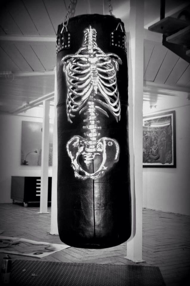 Vaya saco de huesos.
