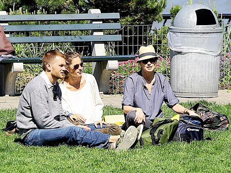 Tom Brady, Gisele Bundchen and Bridget Moynahan on May 18, 2014  How classy and mature that they get along;  John/Jack is loved by all three;  good for the kids and the adults too;  Bravo Gisele and Tom and Bridget