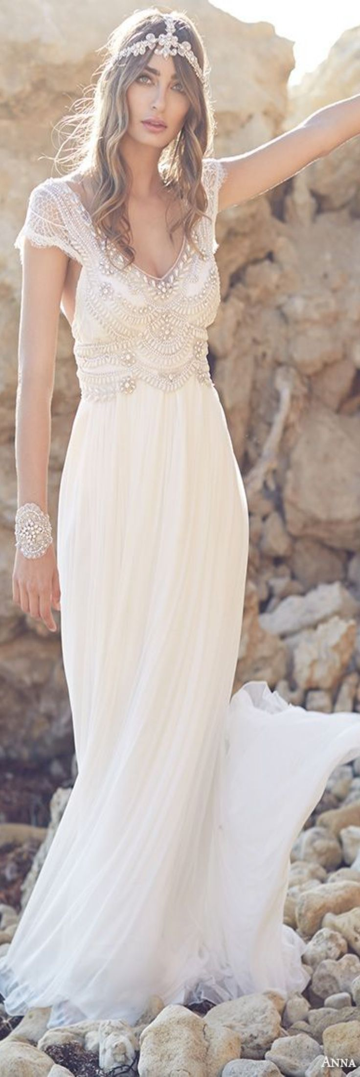BEACH WEDDING dress boho style