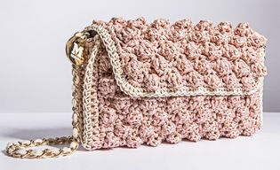 #MMissoni | ANTIQUE ROSE FAUX #RAFFIA BAG | FW 2014-15 Collection | in #LimitedEdition available exclusively online |