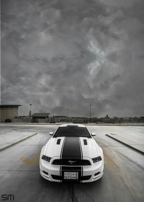 Ford Mustang by Saher Milibari