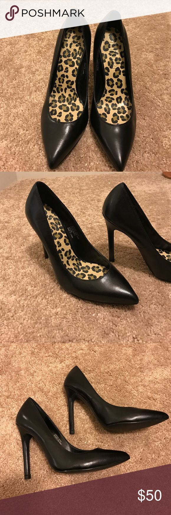 Colin Stuart high heels Colin Stuart high heels. Worn once in perfect condition Colin Stuart Shoes Heels