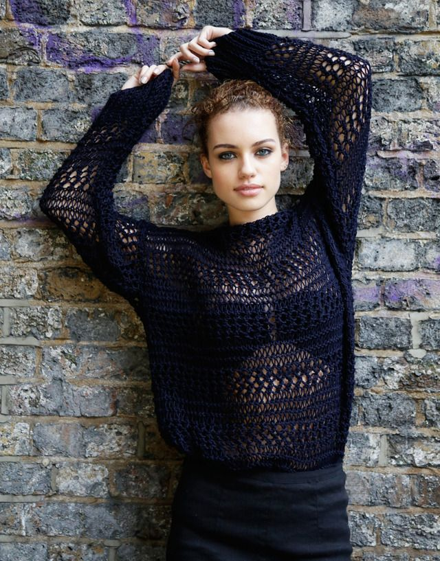Loose knit sweater from the #bossnotbossy collection. Love it!