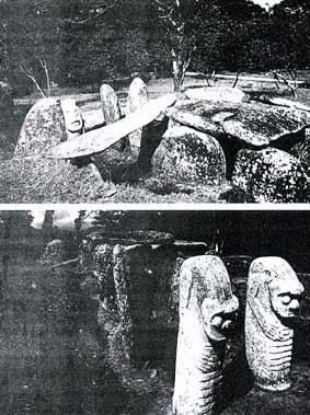 MEGALITHIC MONUMENTS AT SAN AUGUSTIN, COLOMBIA