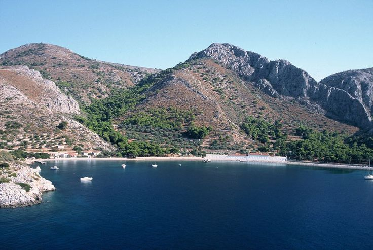 #MolosBeach, #Hydra Island, #Greece.  http://www.cycladia.com/travel-guides-greece/hydra-guide-tips/