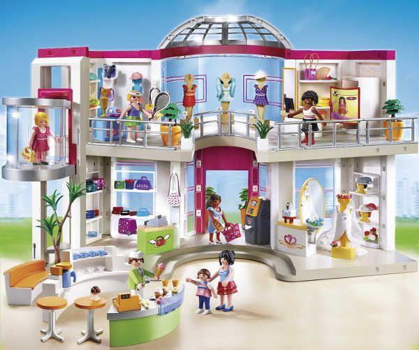 playmobil shopping mall
