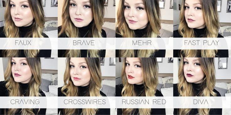 Beauty: My MAC Lipstick collection.
