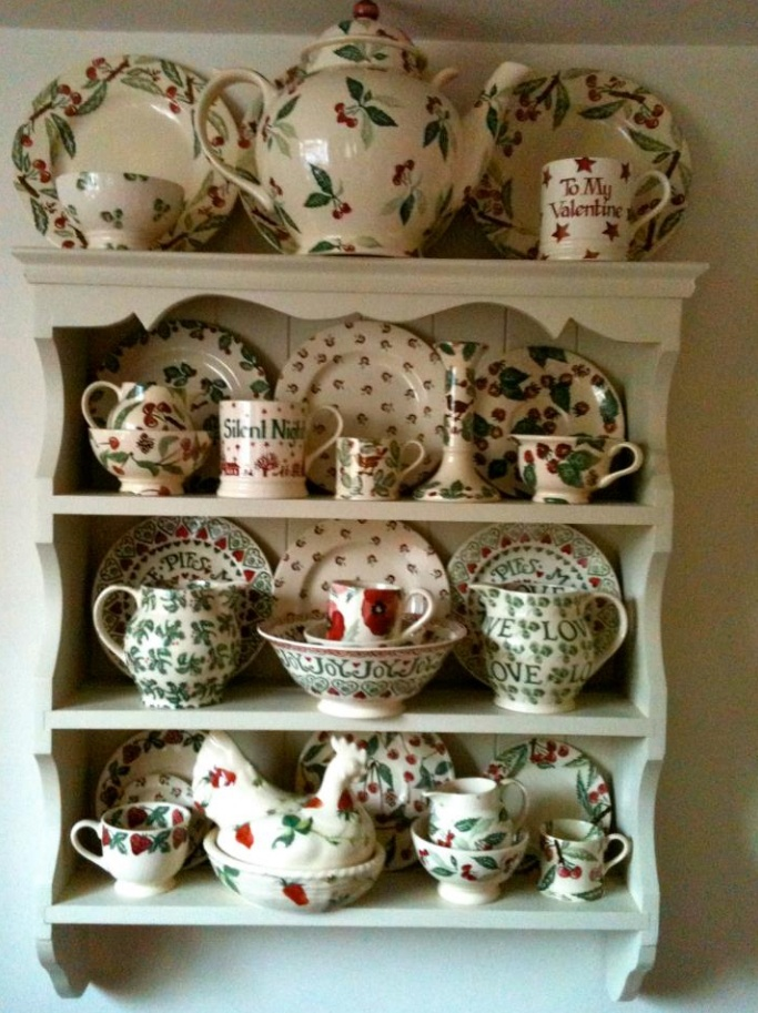 Emma Bridgewater Green Display