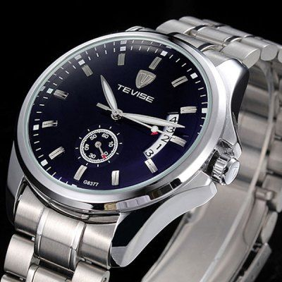 Tevise G8377 Automatic Mechanical Men Watch Date Display-23.83 Online Shopping  GearBest.com