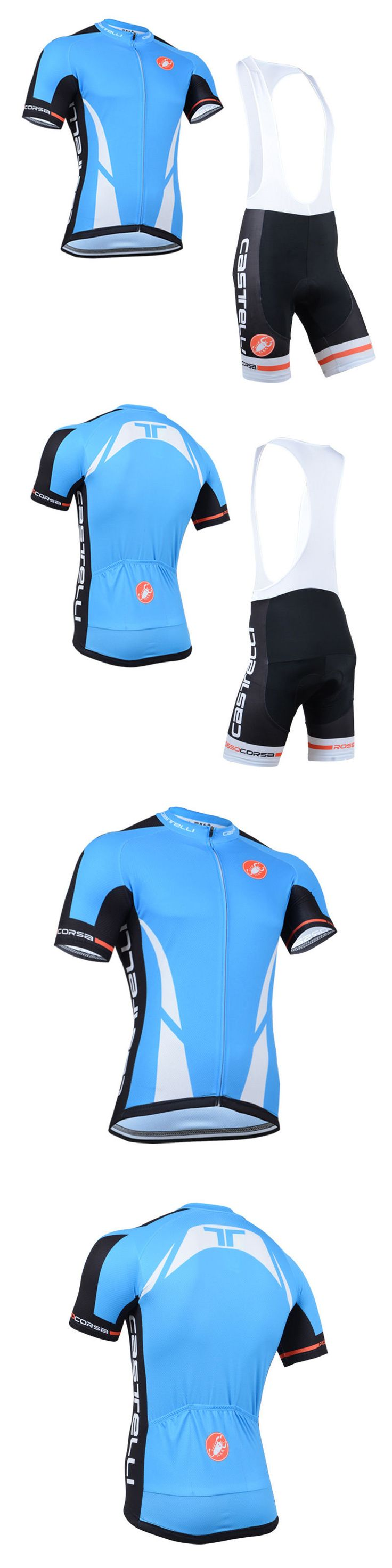 Jersey and Pant Short Sets 177852: New Mens Cycling Jerseys Bib Shorts Suits Outdoor Sports Bike Mtb Clothing Wear -> BUY IT NOW ONLY: $33.9 on eBay!