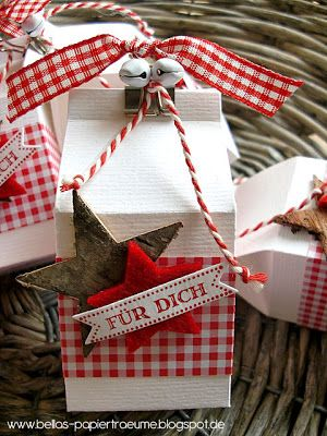scrapbooking idea for box ♥