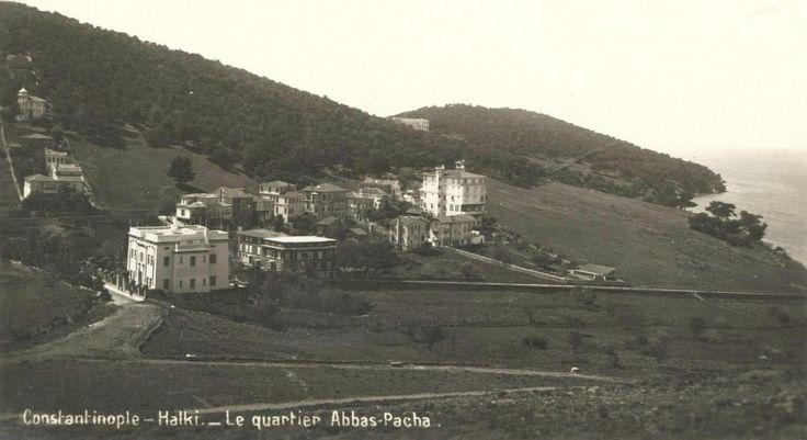 Heybeliada Abbas Halim Paşa konağı.
