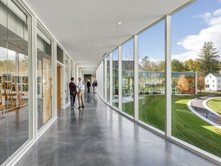 A commercial interior with a great look  Kennedy Center for Theatre and the Studio Arts / Machado and Silvetti Associates