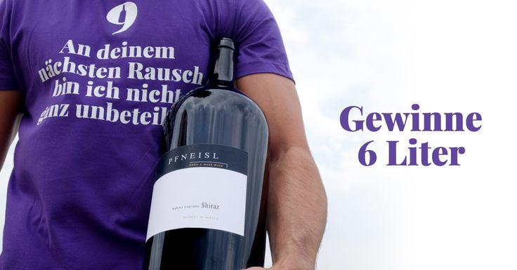 GEWINNE 6 Liter Pfneisl – Shiraz Maria's Vineyard 2013