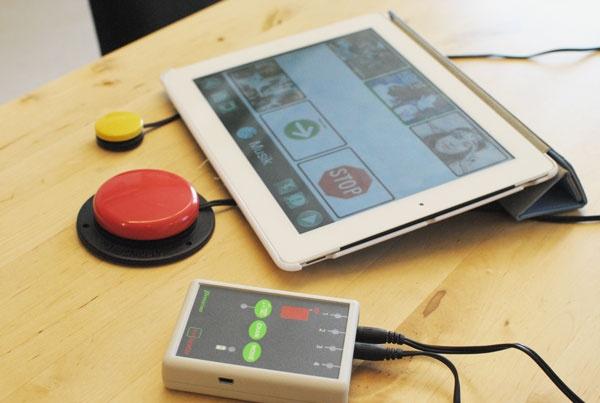 Applicator- gör det möjligt att använda kontakter till iPad