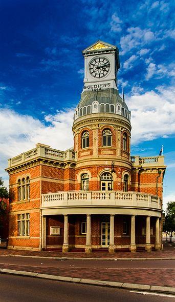 Midland Town Hall, Perth, Western Australia #junkydotcom http://junkystravels.weebly.com/australia.html
