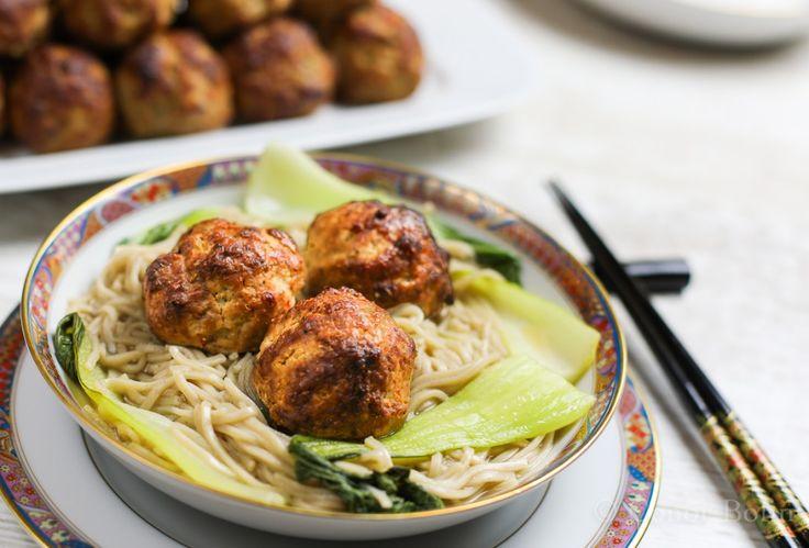 Thai Style Meatballs Recipe | One Man's Meat
