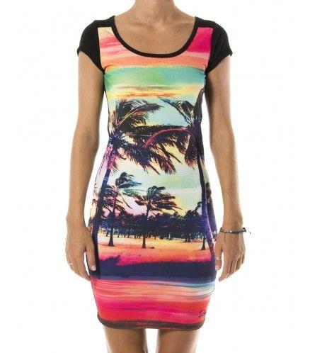 Sunset picnic dress