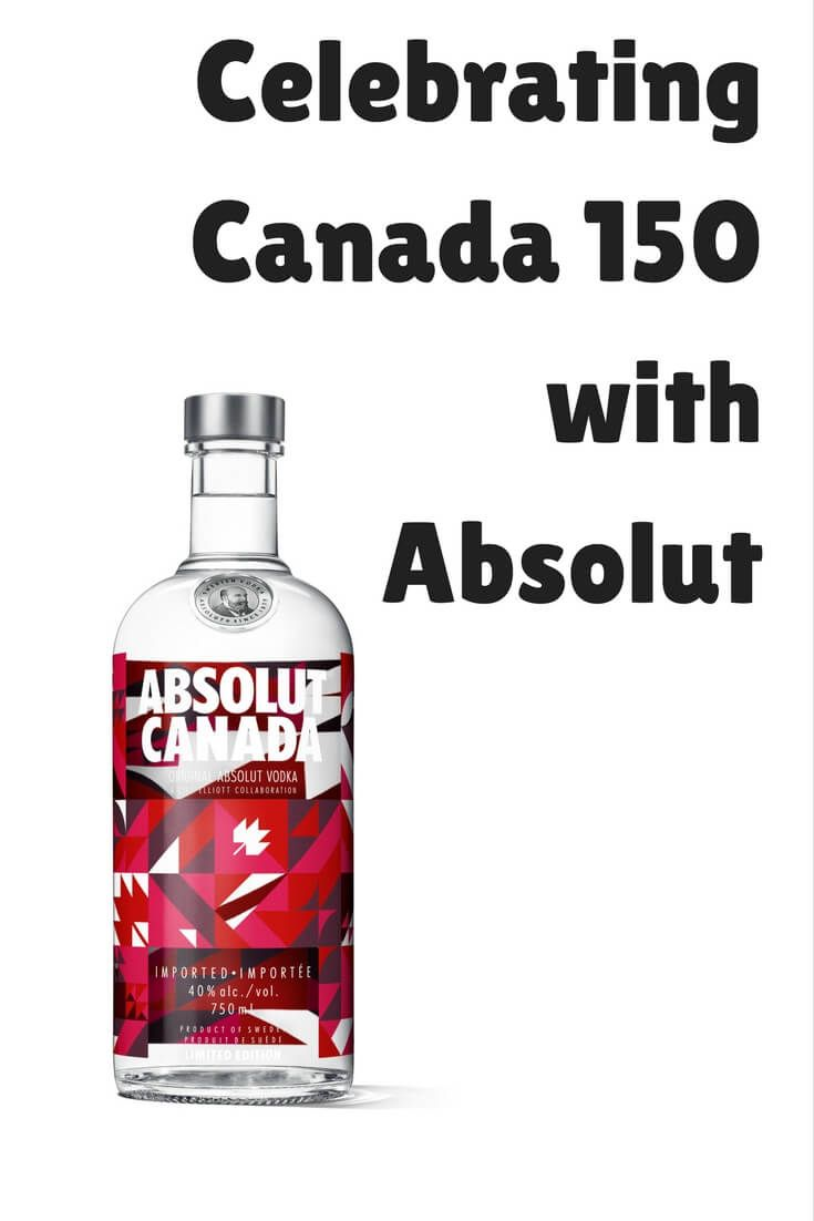 Celebrate Canada 150 with Absolut Canada vodka. The same great spirit you know and love with a cool new Canada inspired bottle.