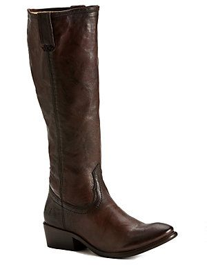 Frye Carson Zip Tall Leather Boots