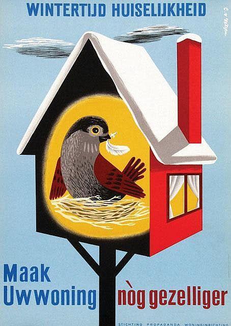 Poster design by Cornelius van Velsen
