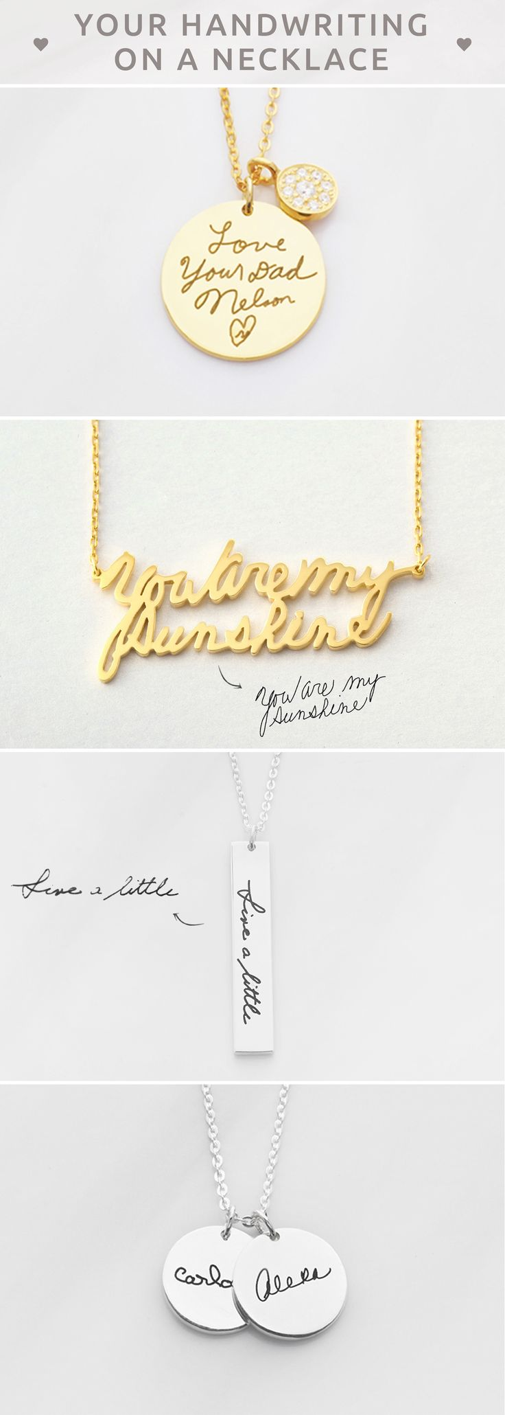 DAINTY Handwriting Necklace • Actual handwriting necklace • Personalized handwritten necklace • Personalized Signature Necklace • Engraved name necklace • Memorial signature jewelry • Custom Handwriting Jewelry Sterling Silver • Memorial Necklace • Minimalist jewelry • Memorial jewelry for wedding • Christmas gifts • christmas presents for mother in law • personalised engagement gifts for engaged couple • unique teacher gifts • birthday gift ideas for mom • bff gifts • unique gifts for mom