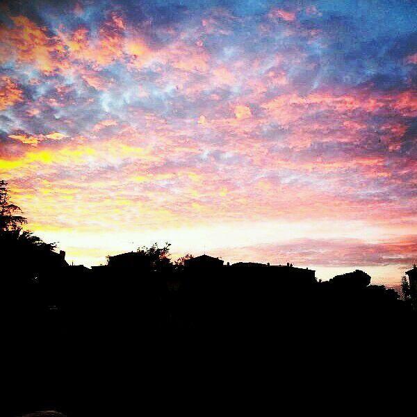 Cielo de colores.