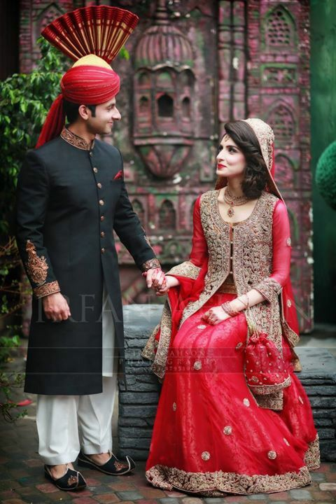 Pakistani bride... #irfanAhsonShoot pinned by #hareimmalick