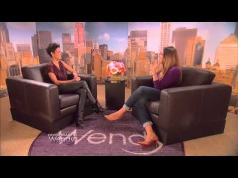Take notes MOTHER & FATHERS! Desiring YOUR children to be fashio. Models,  can't even afford it and think that will make them a better Human Being!  Nope, get with the PROGRAM and keep it moving!  Halle Berry on The Wendy Williams Show - YouTube