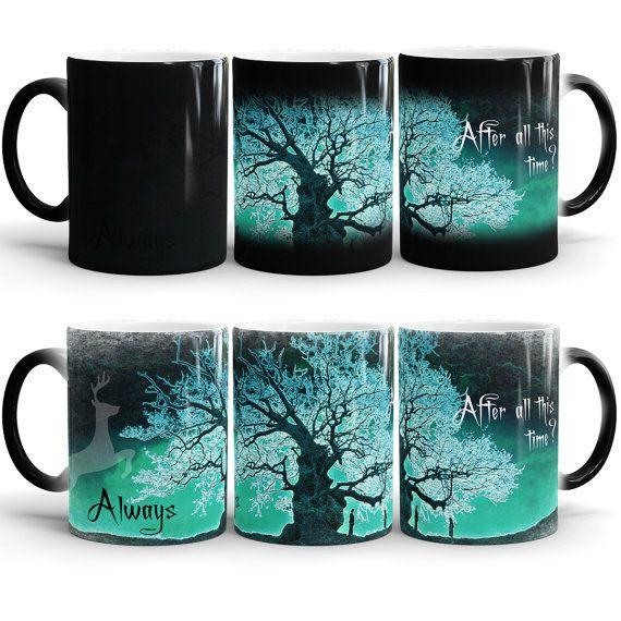 Harry Potter Always Color Changing Mug After all by 4PrintStudio
