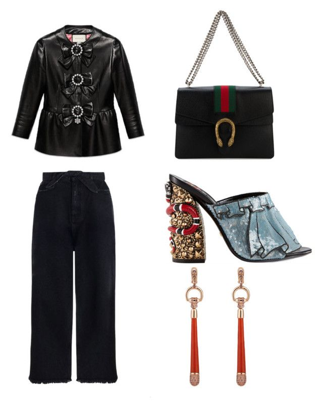 """""""Untitled #97"""" by denisapurple on Polyvore featuring Gucci and Zimmermann"""