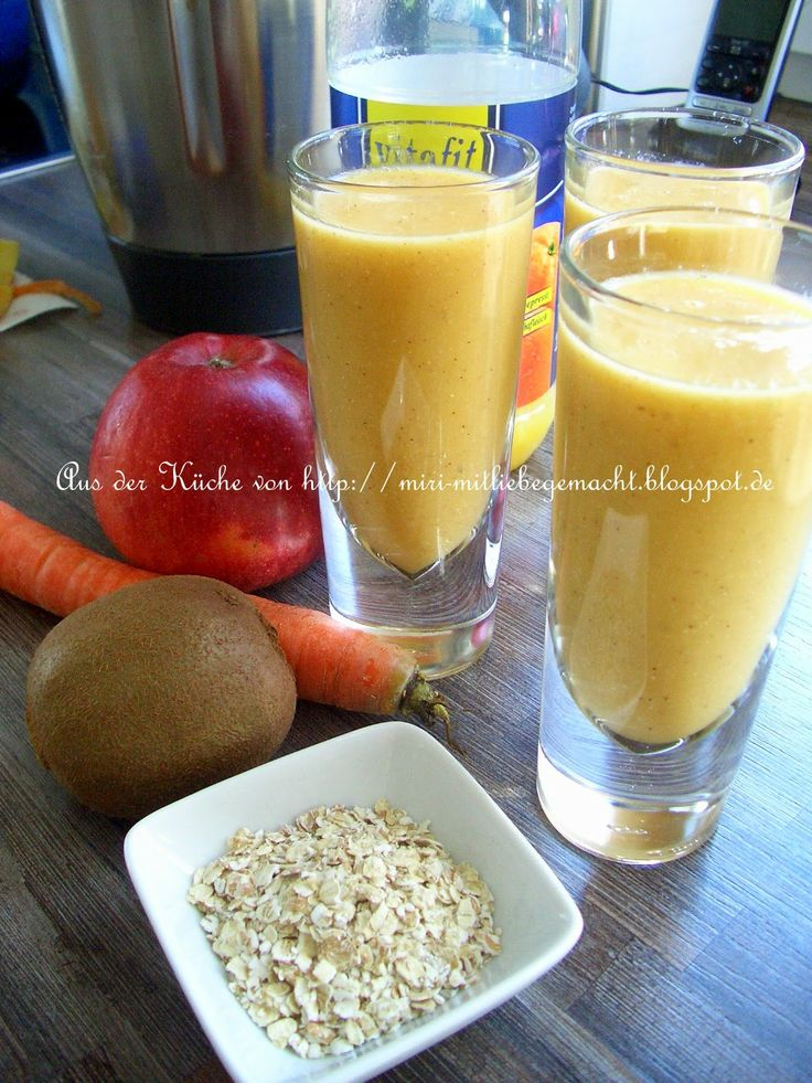 Frühstücks Drink mit dem Thermomix TM31
