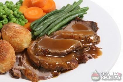 Receita de Lagarto ao molho escuro em receitas de carnes, veja essa e outras receitas aqui!
