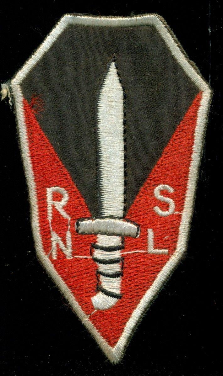 RVN Vietnamese Special Forces Ranger School RNSL Vietnam Patch